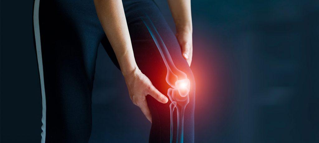 Por qué nos crujen las rodillas